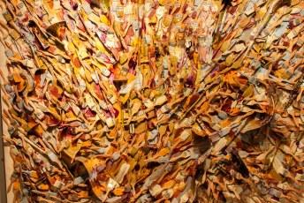 In het Botero museum vindt je o.a. een schilderij van kwasten.