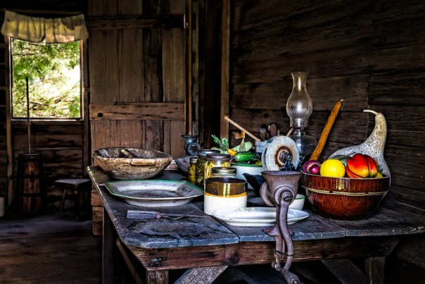 Kitchen table still life