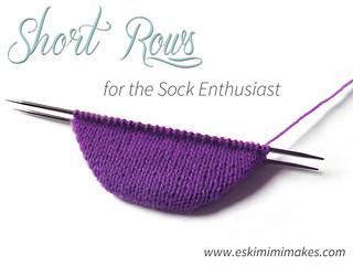 Short Rows For Socks