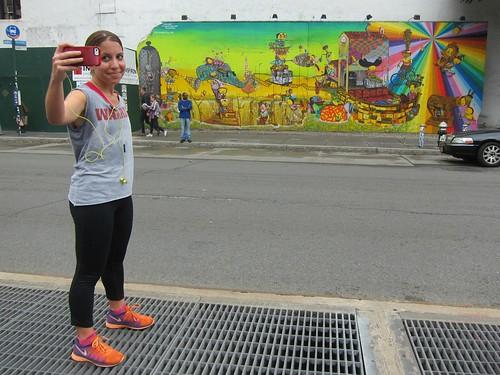 Os Gemeos 2009 Bowery Wall: Selfie