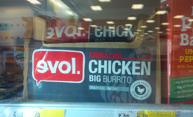 evol Sriracha Chicken Big Burrito