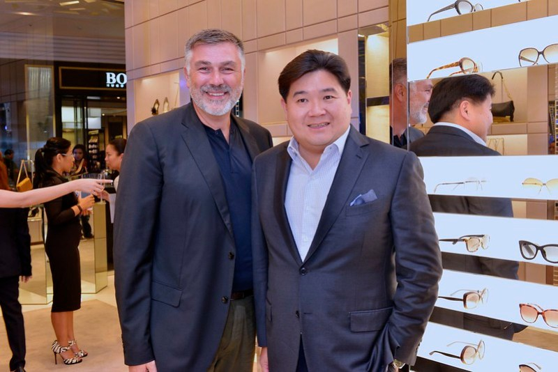 Gerard Liut Director of Wholesales, Asia Pacific for Jimmy Choo, Anton Huang SSI Group, Inc. President
