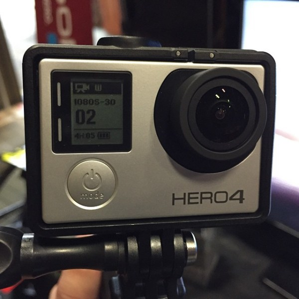 A @gopro Hero 4 in the wild! #LDTech