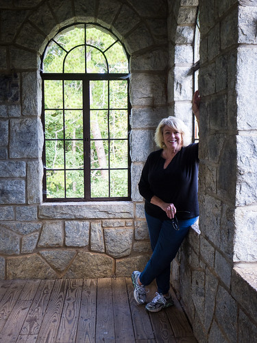 Glynda at Rock Eagle Tower