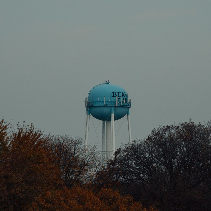 Beaver Lake water tower