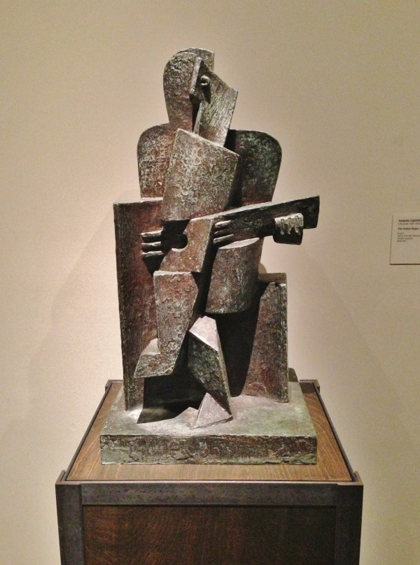 Guitar Player Jacques Lipchitz 1918 Los Angeles