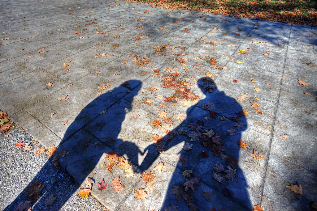 """Love Shadow"" at FDR Presidential Library."