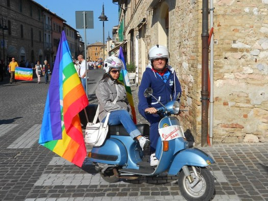 Vespa, per la Pace, Assisi