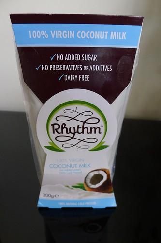 Rhythm coconut milk