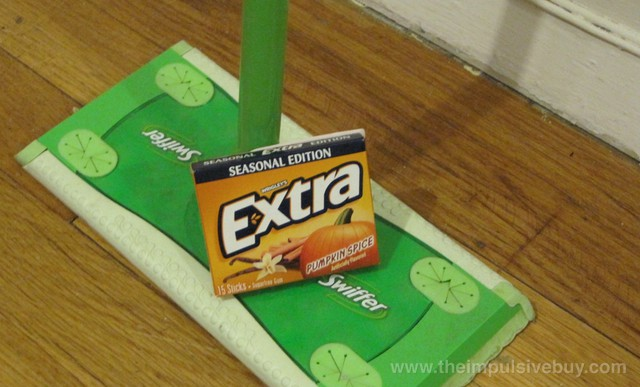 Wrigley's Extra Seasonal Edition Pumpkin Spice Gum and Trident Layers Limited Edition Pumpkin Spice Gum This clean house is brought to you by Extra gum