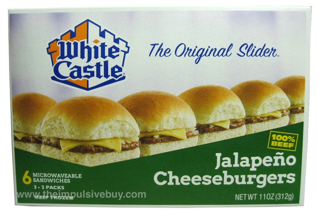 White Castle Frozen Jalapeno Cheeseburgers