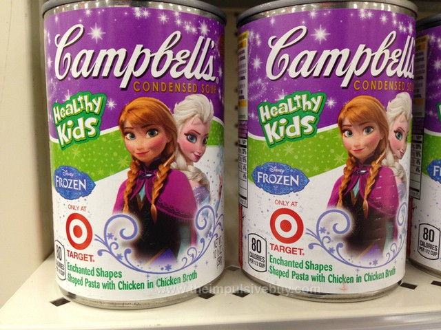 Campbell's Disney Frozen Healthy Kids Condensed Soup