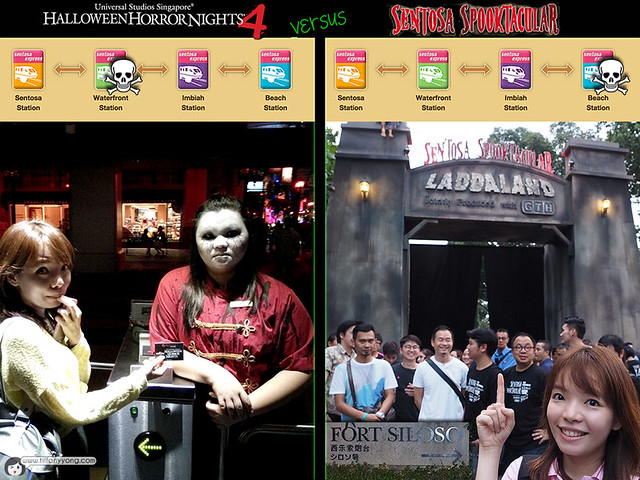 Halloween Horror Nights4 VS Spooktacular 2