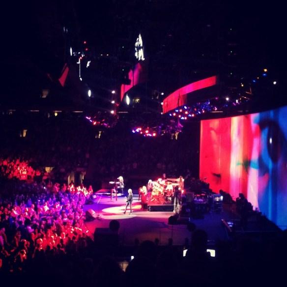 Fleetwood Mac Stage