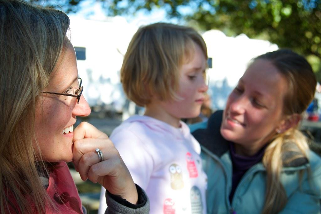 Jen, Finn and Cathy
