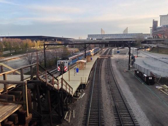 18th Street Metra Electric station renovations