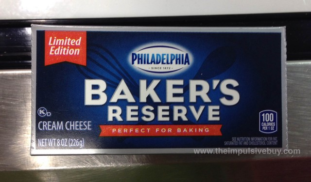 Philadelphia Limited Edition Baker's Reserve Cream Cheese