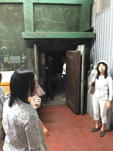 有形文化財のワイン貯蔵庫を特別に見学〜〜!