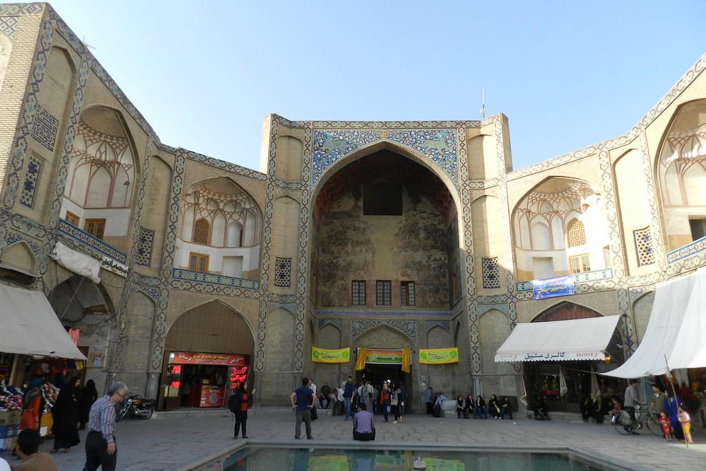 Bazar de Isfahán Irán 01
