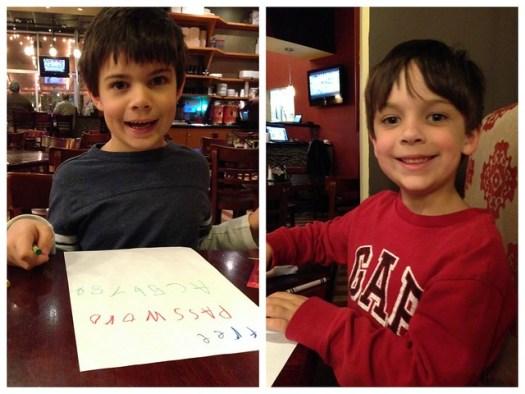 Shug and Shugie at Buckhead Pizza