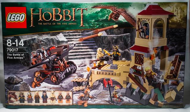 review lego 79017 the hobbit la bataille des 5 arm es. Black Bedroom Furniture Sets. Home Design Ideas