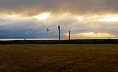 Dusk wind generators