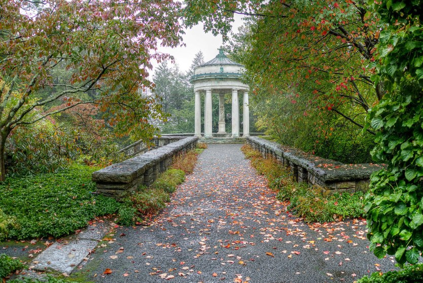One of the many gazebos and sculptures, Kykuit.