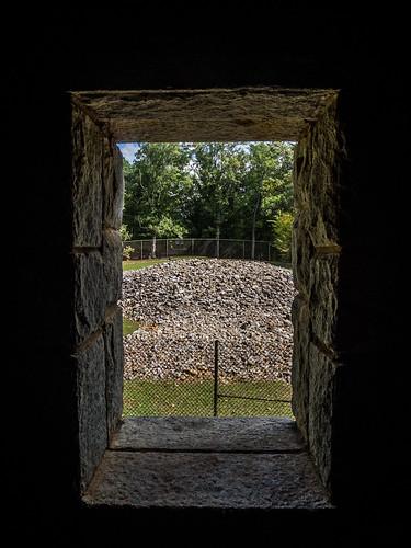 Rock Eagle Tower Window