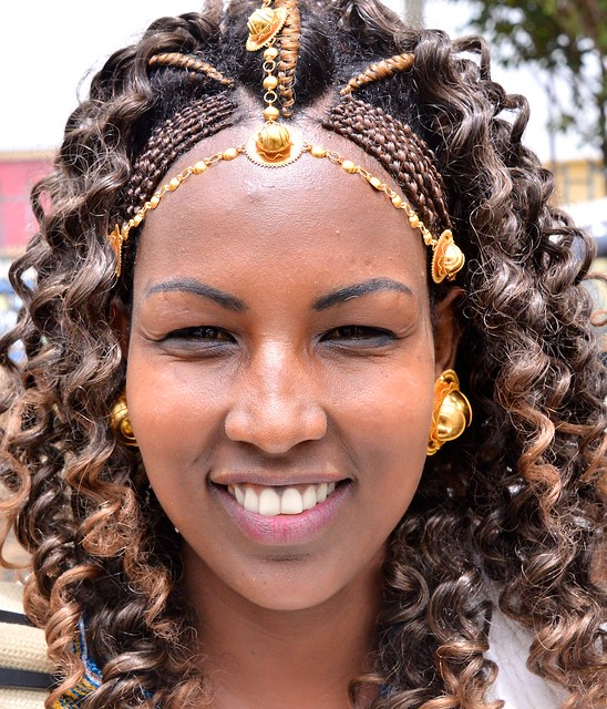Traditional Hairstyle Tigray Ethiopia Flickr Photo