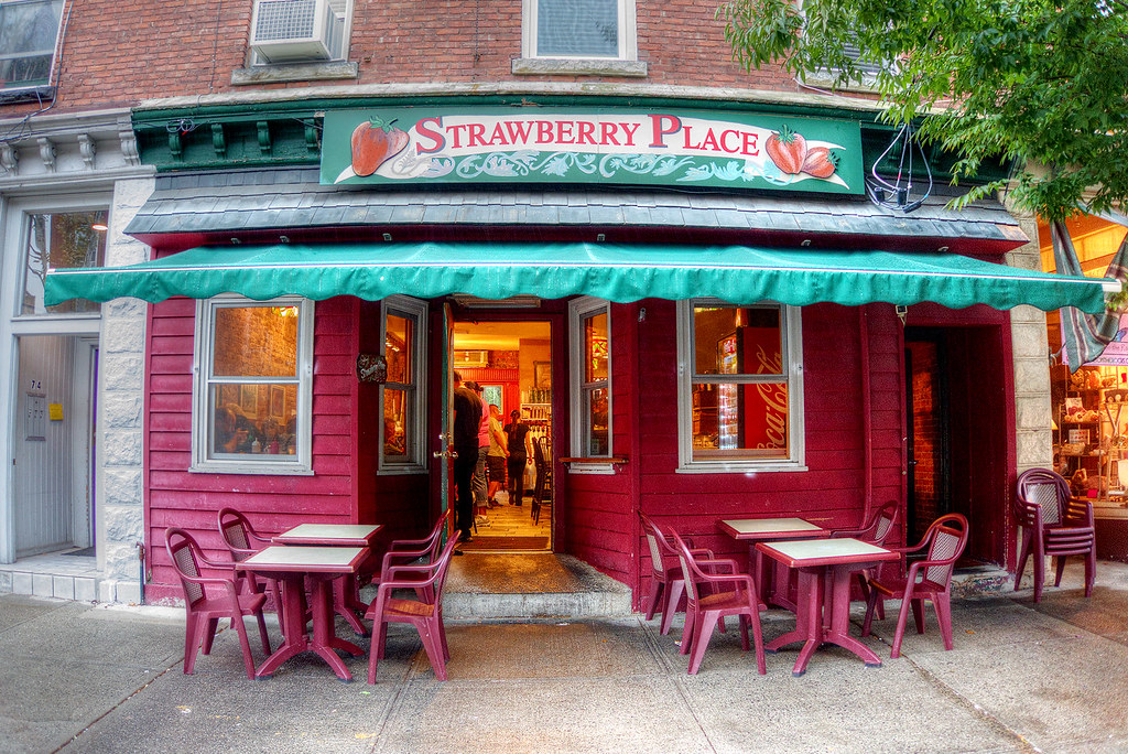 Strawberry Place, Nyack, NY.
