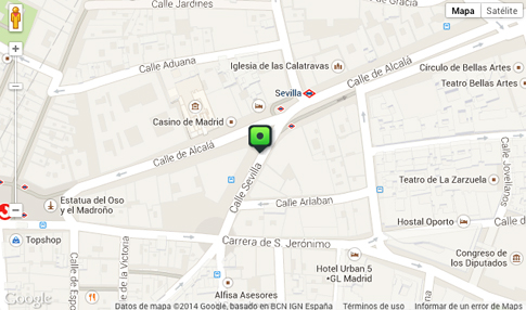 14j17 Plano Madrid centro