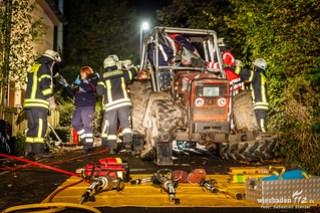 Traktorunfall Eppstein 16.10.14