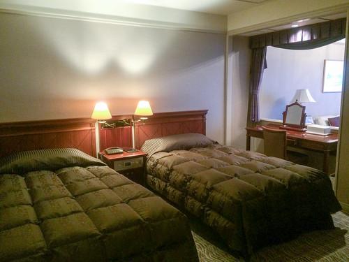 エクシブ山中湖の客室(ラージグレード)