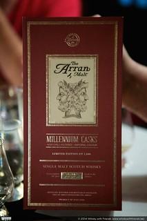 The Arran Malt Millennium Casks