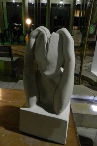 Esculturas en la calle Shiraz Irán 05