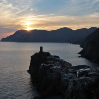 Sunsets of Cinque Terre