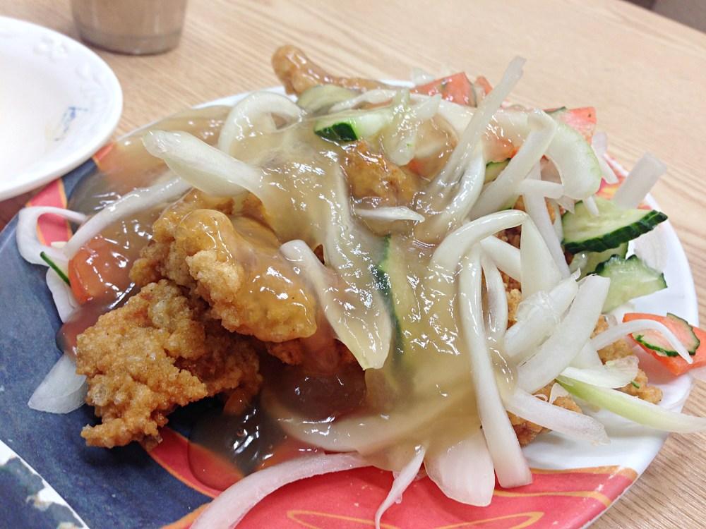 26 Sep 2014: Sweet & Sour Pork lunch at Seomyeon Shopping District | Busan, South Korea