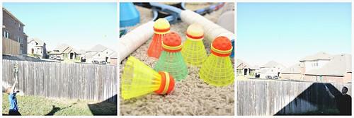 Speedminton S200 Badminton Set