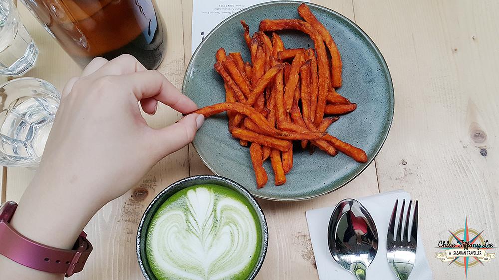 Sweet Potato Fries, Woo! Cafe @eatplaywoo at Australian Place, Jalan Dewan, Kota Kinabalu, Chloe Tiffany Lee