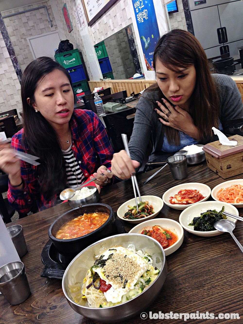 26 Sep 2014: Dinner at Mummy's Hands 엄마손식당 near Gwangan Beach | Busan, South Korea