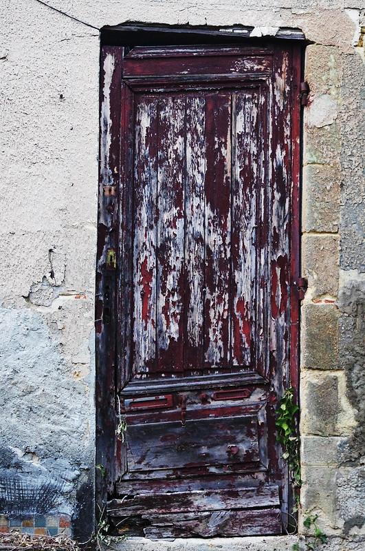 Une porte de chute