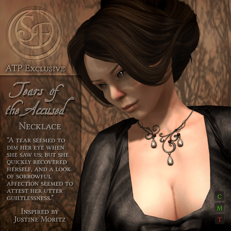 """Tears of the Accused"" Necklace - ATP Exclusive"