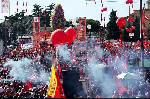 Marcha en Roma