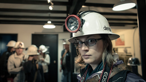 Serious Miner Jenn