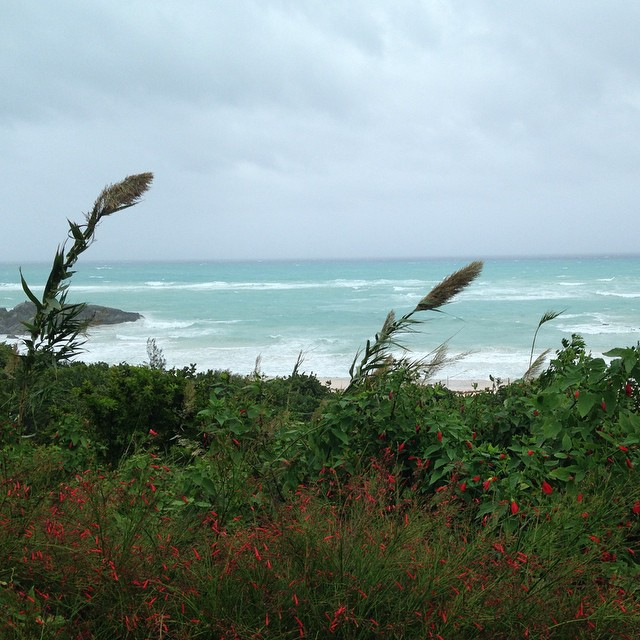 He's coming #HurricaneGonzalo #bermuda #stormwatch