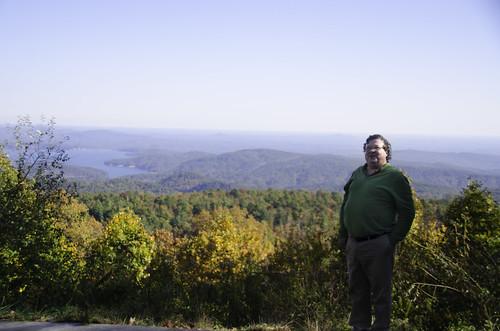 Ken at Jocassee Overlook
