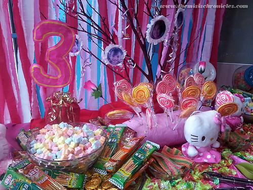 Hello Kitty candy buffet