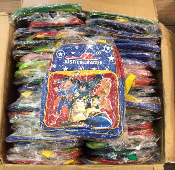 Balikbayan Box of Backpacks
