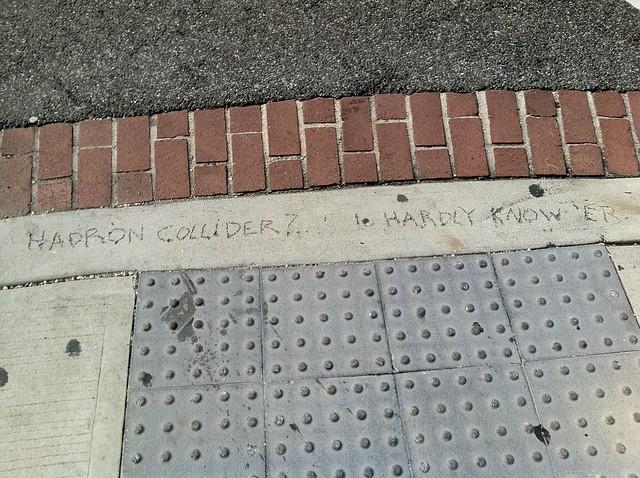 Scientific graffiti