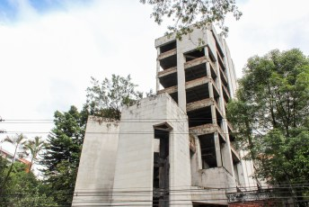 Het voormalig HQ van het Medellin kartel.